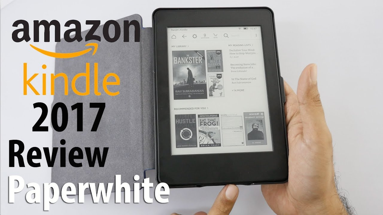 Kindle Paperwhite Review (2017 with 300 ppi Model)