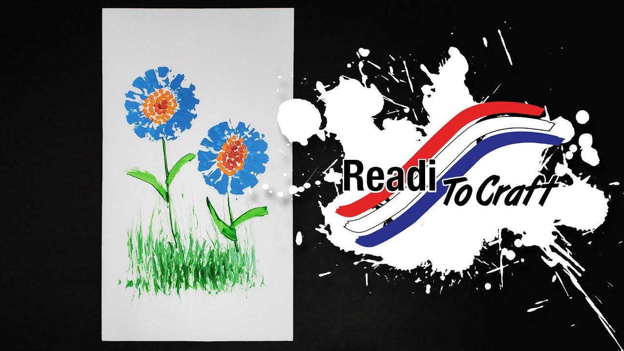 Readi to Craft: No Paintbrush Painting