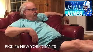 Giants Fans react Daniel Jones NFL Draft Pick!