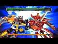 Sieu nhan game play   DEMO game Power Rangers - Super Legends