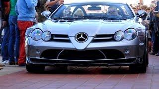 Supercar Parade: Veyron GS Vitesse, 722s Roadster, 599 GTO, CGT, Aventador, Superleggera
