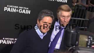 Sumner Redstone at Pain and Gain Los Angeles Premiere 4/2...