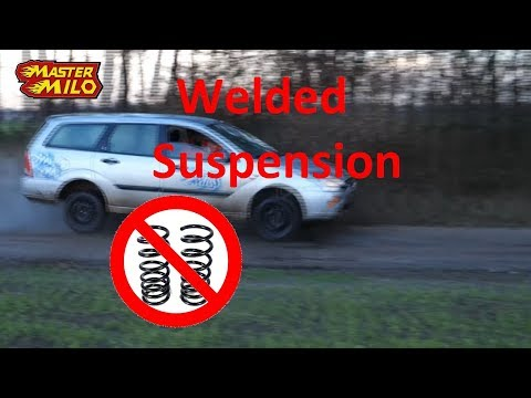 Steel tube suspension TEST (no suspension at all)