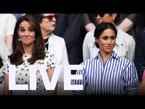 Meghan Markle Kate Middleton Address Rift Rumours  ET Canada