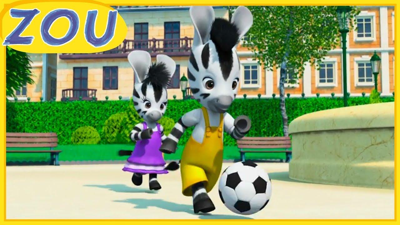Zou in italiano ⚽ la partita di calcio ⚽ cartoni animati