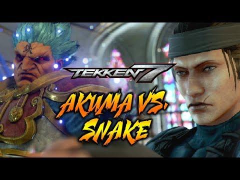 AKUMA VS....SNAKE?! WEEK OF AKUMA! Tekken 7 - Online Ranked Matches