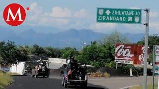 Van 14 muertos en 4 días por enfrentamientos en Zirándaro, Guerrero