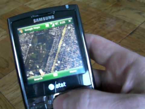 Samsung Epix SGH i907 - Neil Berman for theONbutton