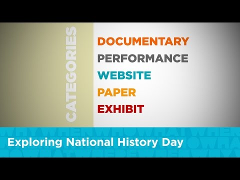 Exploring National History Day