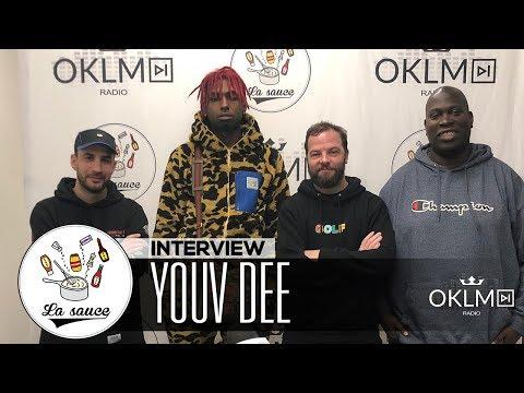 Youtube: YOUV DEE («GEAR 3», parcours, One Piece, L'Entourage…) – #LaSauce sur OKLM Radio 17/12/18