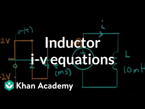 Inductor equations