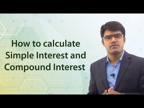 Simple Interest & Compound Interest Sample Question