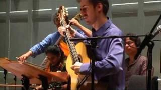 Simon Thacker and the Nava Rasa Ensemble play Shirish Korde's Nada Ananda