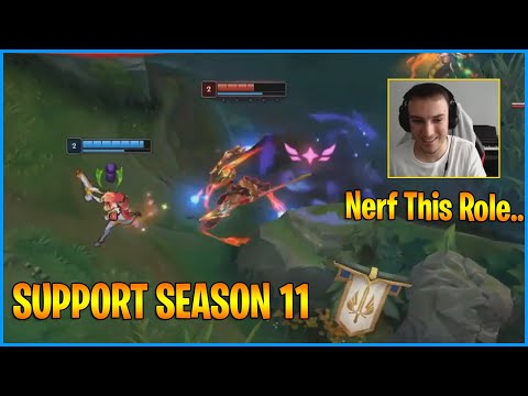 Perkz Shows How BROKEN Support Is..Riot Games Please Nerf This Role…LoL Daily Moments Ep 1235