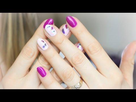 Manicure Hybrydowy Efekt Syrenki I Tatuaże Semilac