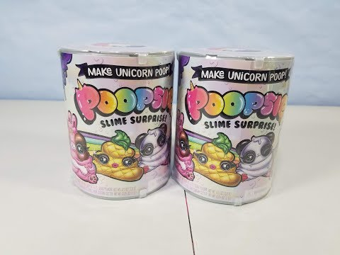 Poopsie Slime Surprise Making Unicorn Poop