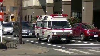 緊急出動する当病院のドクターカー。このドクターカーはどちらかという...