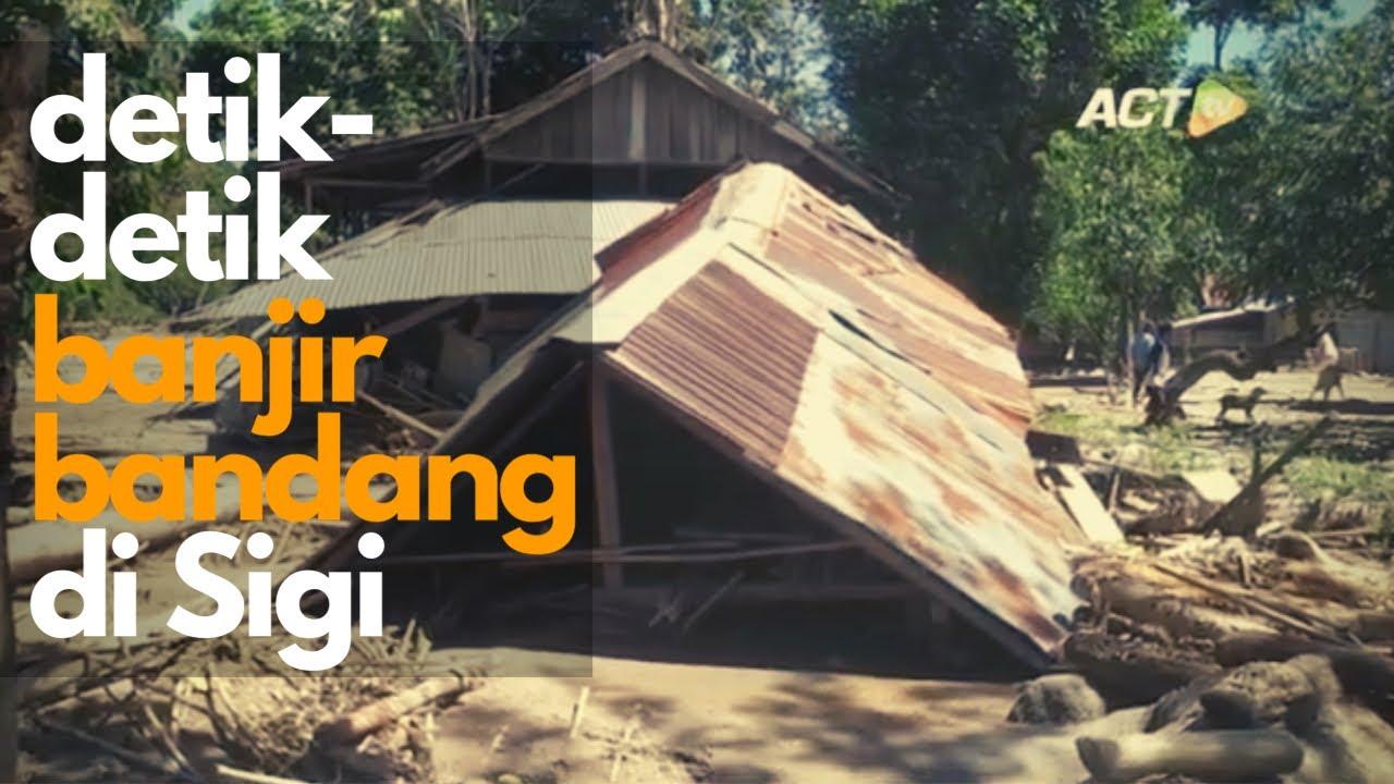 Banjir Bandang di Sigi Terjang Rumah Sakit