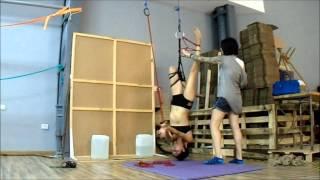 Shibari session Lesbian