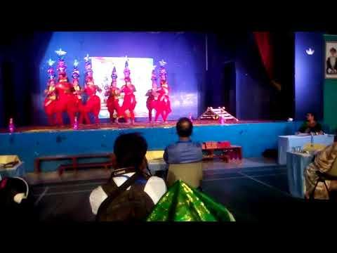 Tamil karakattam dance by isml (India school muladha) students in ism (India school Muscat) for jank