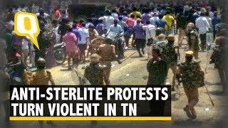 Anti-Sterlite Protests Turn Violent in TN, CM Announces Relief   The Quint