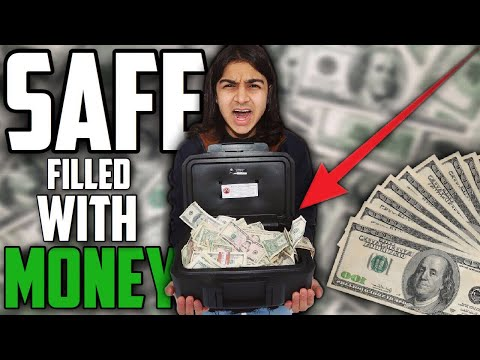 I FOUND A SAFE FILLED WITH MONEY! HOW MUCH MONEY DID I FIND!