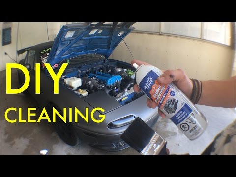 [How-To] Clean Your Engine Bay! [HD]
