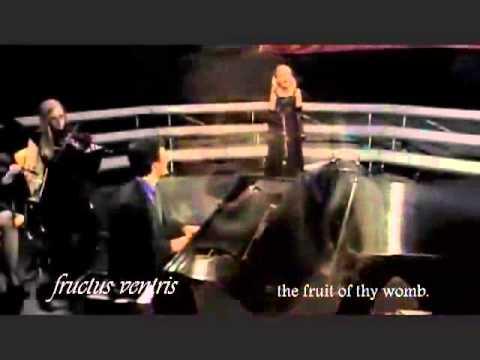 Ave Maria (Bach/Gounod) ( Jackie with lyrics )