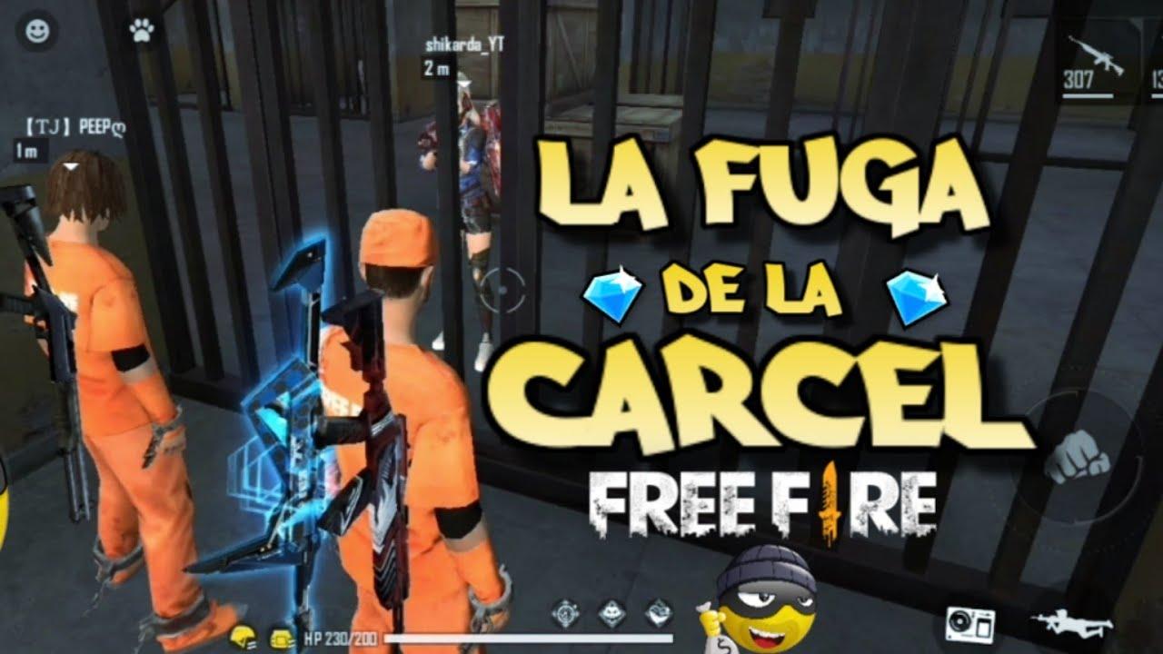 🏃♂️LADRONES ESCAPAN DE LA CARCEL EN FREE FIRE   RANDOM #12