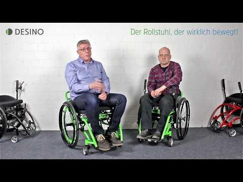 Die Rollstühle von DESINO im Alltag - Therapie im Rollstuhl - Verladen - Ausprobieren