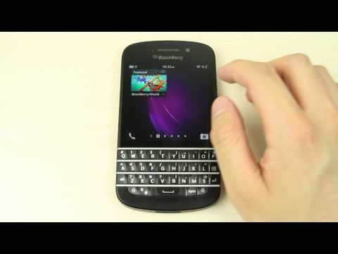 How To Install Reorganize And Uninstall Apps On Blackberry Q10