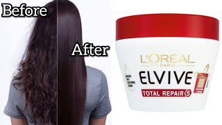 Lo real Total Repair Mask Reviews How to Apply Hair Mask