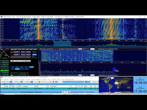Radio Vaticana in Russian from Philippines to Central Asia on 7360 kHz Shortwave, Distance: 10198 km