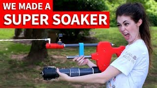 DIY Super Soaker vs. Store Bought (& How We Made It!)