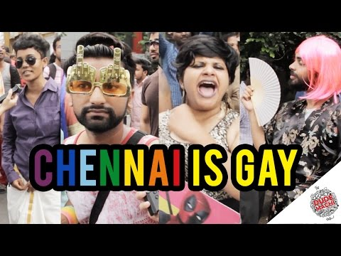 Chennai Is Gay | LGBT Rainbow Pride March | The Dudemachi Show