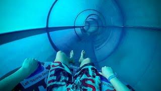 Lalandia Billund - Blue ProSlide PIPEline (Single Tube Slide) Onride