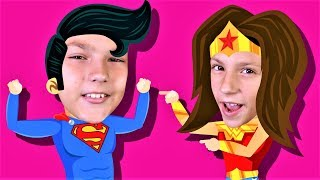 Let's Be Superheroes! Kids Superhero Song | Action Song for Kids