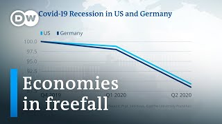 US and Germany report record GDP declines due to coronavirus | DW News