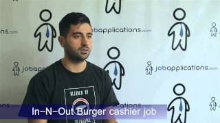 In-N-Out Burger Interview - Cashier