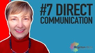 ICF Core Competency #7: Direct Communication