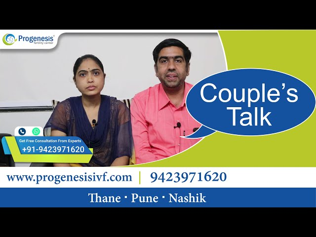 Progenesis #HappyFaces- Couple conceived Pregnancy after 11 years of Marriage