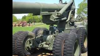 The M59 Long Tom Gun at Aberdeen Ordnance Museum