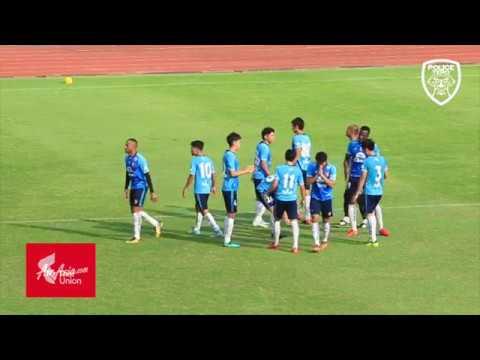 POLFCTV | Goal highlight : Friendly match  Police Tero FC 2 - 2 Thai Honda FC