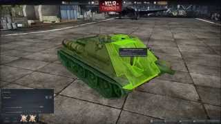 War Thunder Ground Forces, Su-122 !! Gameplay commenté FR #15