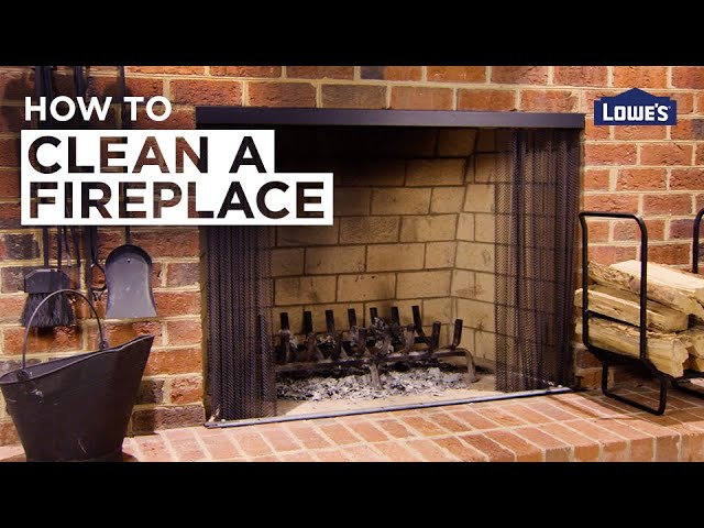 How to Clean a Fireplace | DIY Basics