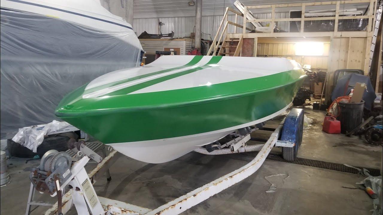 Дальнобой по США/Начал реставрировать лодку часть 2