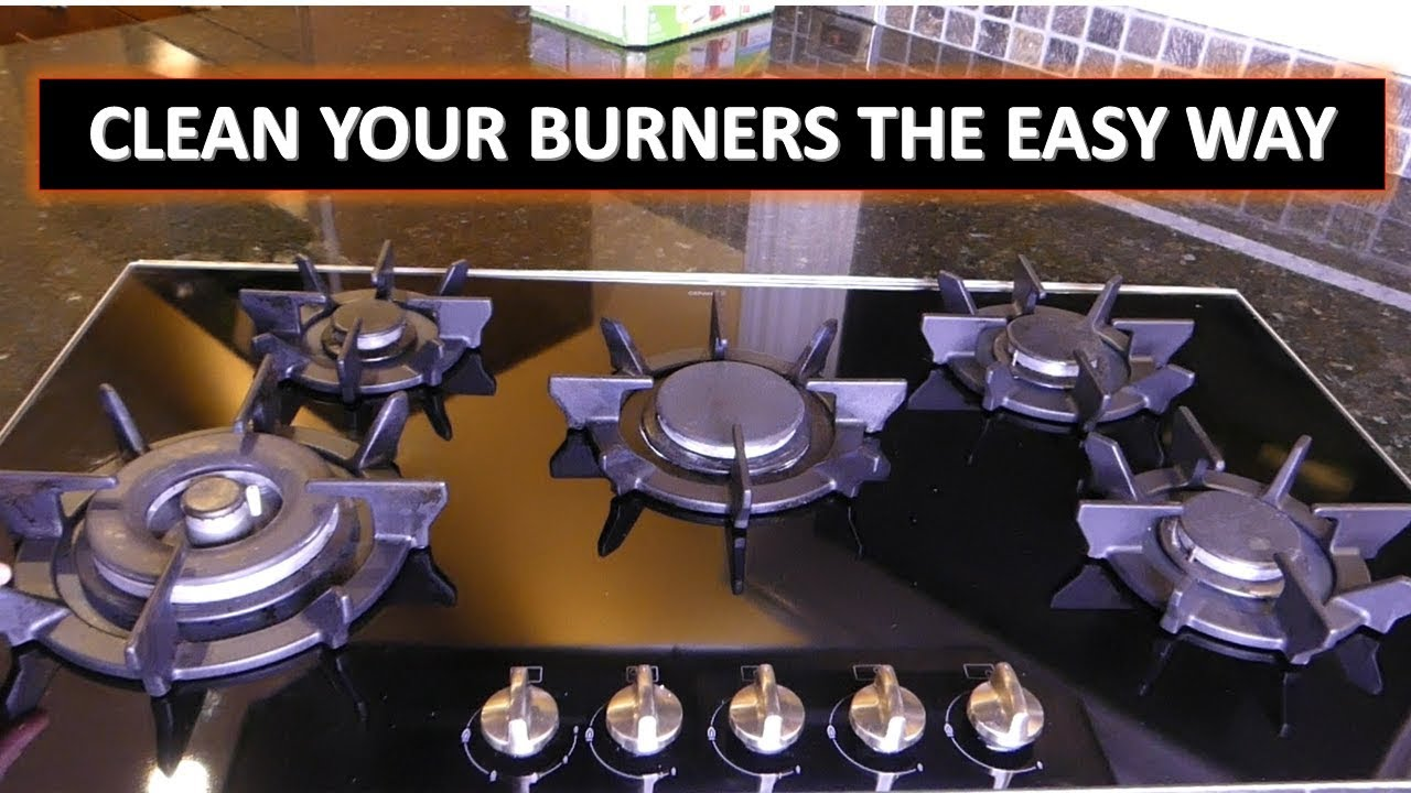 The Best Way To Clean Stovetop Burners