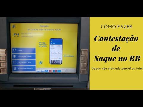Contestação De Saque Banco Do Brasil