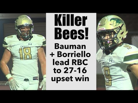 Red Bank Catholic 27 Donovan Catholic 16 | Week 7 Highlights | Anthony Borriello TD Pass, TD Run