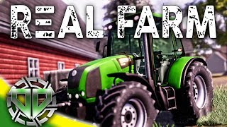 Real Farm Gameplay : Career Mode Farming!  Cultivating, Seeding, & Harvesting! (PC Let